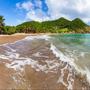 Transfert en taxi entre les hôtels et les plages de Guadeloupe