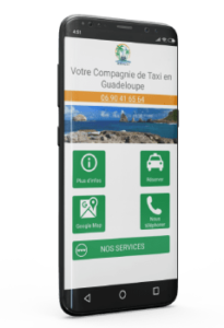 application taxi guadeloupe